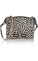 Valentino Leopardprint Calf Hair Shoulder Bag - Lyst