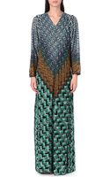 Missoni Long Sleeved Knitted Dress - Lyst