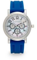 Saks Fifth Avenue Stainless Steel Strap Watch - Lyst