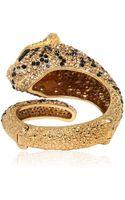 Roberto Cavalli Panther Bracelet with Swarovski Crystals - Lyst
