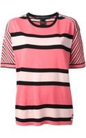 Marc By Marc Jacobs Striped Tshirt - Lyst