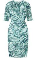 Whistles Mimosa Print Bodycon Dress - Lyst
