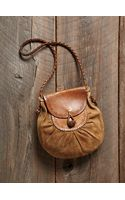 Free People Vintage Leather Shoulder Bag - Lyst