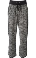 Marc By Marc Jacobs Blotchy Print Track Pants - Lyst