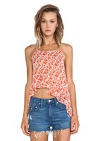 BCBGMAXAZRIA Bcbgeneration Asymmetric Tie Back Top - Lyst