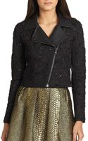 Sachin & Babi Gisela Embroidered Motorcycle Jacket - Lyst