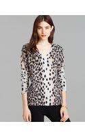 Equipment Sweater Cecile Dalmatian Dot Print - Lyst