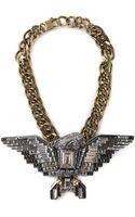 Lanvin Eagle Necklace - Lyst
