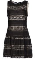Alice + Olivia Short Dress - Lyst