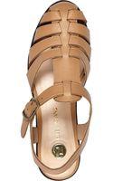 River Island Tan Strappy Gladiator Sandals - Lyst