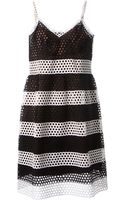 Marc Jacobs Striped Dress - Lyst