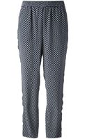 Marc By Marc Jacobs Printed Relaxed Leg Trouser - Lyst