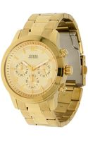 Guess Chronograph Stainless Steel Watch - Lyst
