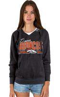 Junk Food Womens Denver Broncos Holiday Logo Hoodie - Lyst