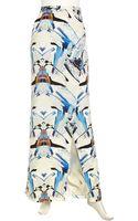 Sachin & Babi Graphicprint Wrap Maxi Skirt - Lyst