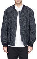 3.1 Phillip Lim Wool Bomber Jacket - Lyst
