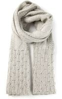 Missoni Textured Knit Scarf - Lyst