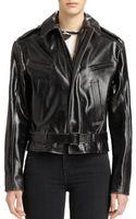 Proenza Schouler Leather Biker Jacket - Lyst