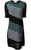 Peter Pilotto Embroidered Pattern Dress - Lyst
