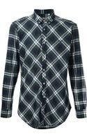 MSGM Checked Shirt - Lyst