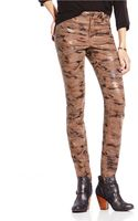 Two By Vince Camuto Camo Print Skinny Jeans - Lyst