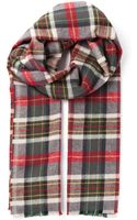 DSquared2 Checked Scarf - Lyst