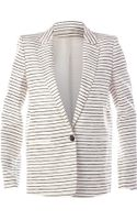 Acne Studios Striped Blazer - Lyst