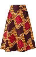 Stella Jean Printed Skirt - Lyst