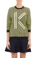 Kenzo K Appliqué Sweatshirt - Lyst
