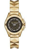 Karl Lagerfeld Karl 7 Goldtone Stainless Steel Bracelet Watch - Lyst