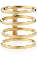 Lana Jewelry 14k Gold Gladiator Multiband Ring - Lyst