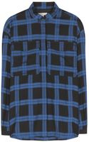 Burberry Brit Plaid Cotton Shirt - Lyst