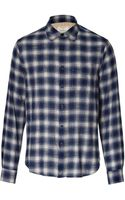 Rag & Bone Cotton Plaid Beach Shirt - Lyst