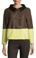 M Missoni Colorblock Knit Jacket - Lyst