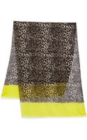 Kate Spade Cuban Leopard Scarf - Lyst