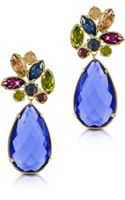Forzieri Crystal Drop Earrings - Lyst