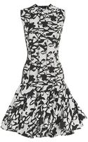 Lanvin Jacquard Insideout Dress - Lyst