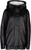 Helmut Lang Leather Outerwear - Lyst