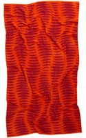 Natori Ribbed Beach Towel - Lyst