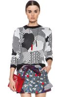 Opening Ceremony Abstract Jacquard Crewneck - Lyst