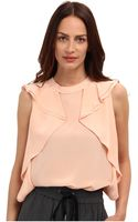 Marc By Marc Jacobs Frances Cdc Ruffle Top - Lyst