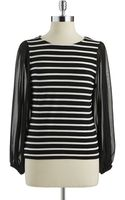Vince Camuto Peasant Sleeved Top - Lyst
