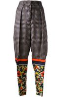 Jean Paul Gaultier High Waisted Tapered Trouser - Lyst