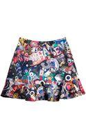 Cynthia Rowley Ruffle Skirt - Lyst