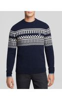 Fred Perry Tipped Island Knit Sweater - Lyst