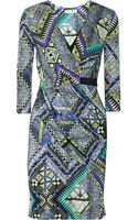 Matthew Williamson Printed Jersey Dress - Lyst