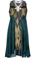 Jo No Fui Kneelength Dress - Lyst