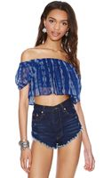 Nasty Gal Desertland Crop Top - Lyst