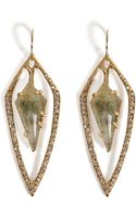 Alexis Bittar Kinetic Orbiting Teardrop Earrings - Lyst