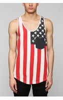 Urban Outfitters Americana Pocket Tank Top - Lyst